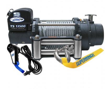Tigershark 13500 12в лебедка электрическая