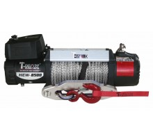 Hew-9500 x power 12в лебедка электрическая с синтетическим тросом